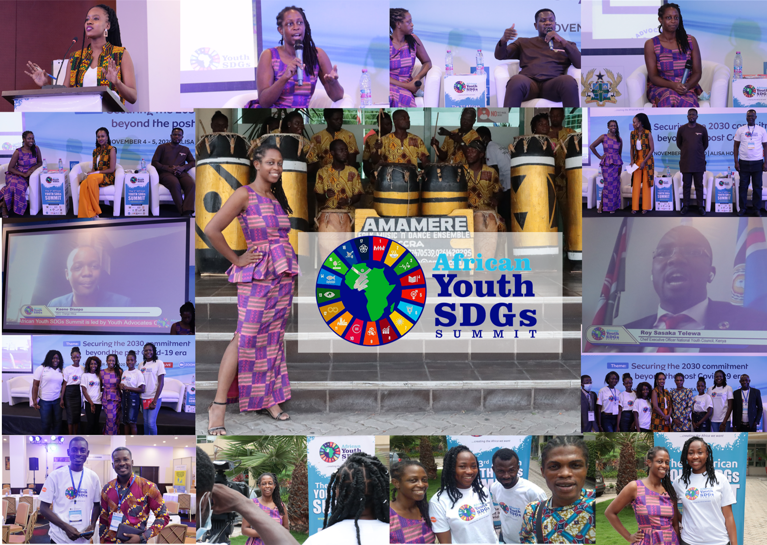 African Youth conference collage
