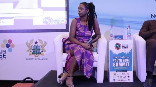 Nataki Kambon speaker at African Youth Sustainable Development Goals